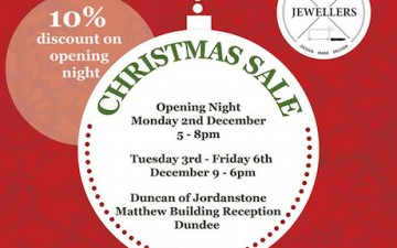 Jewellery Christmas Sale – DJCAD