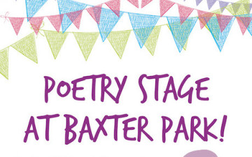 Poetry Stage at Baxter Park!